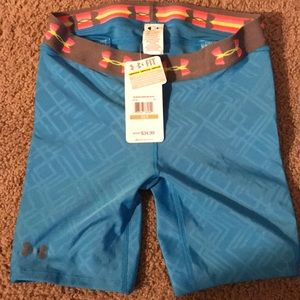 Under armor compression shorts